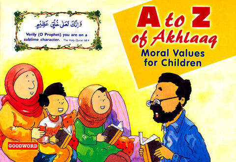 A to Z Akhlaaq (Moral Value to Children)