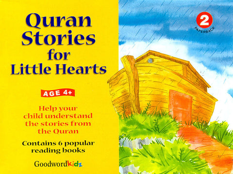 Quran Stories for Little Hearts Gift Box - 2 (6 PB Books)
