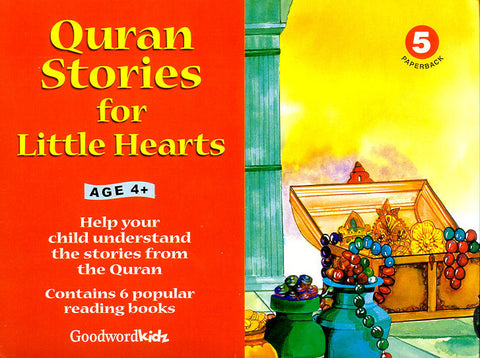 Quran Stories for Little Hearts Gift Box - 5 (6 PB Books)