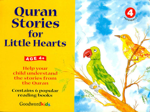 Quran Stories for Little Hearts Gift Box - 4 (6 PB Books)