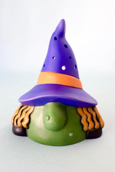 Ceramic Witch | Halloween Gnome