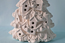 Load image into Gallery viewer, DIY Bisque Birdhouse | Ceramic Christmas Tree