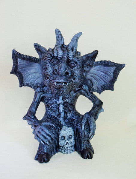 Ceramic Winged Gargoyle