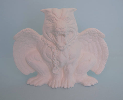 Ceramic Gargoyle | DIY Paint Project | Bisqueware