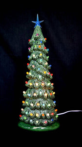 Bisque Christmas Trees - Ready to paint Christmas trees - Set of five - Christmas Decorations - DIY Project - Painting Project