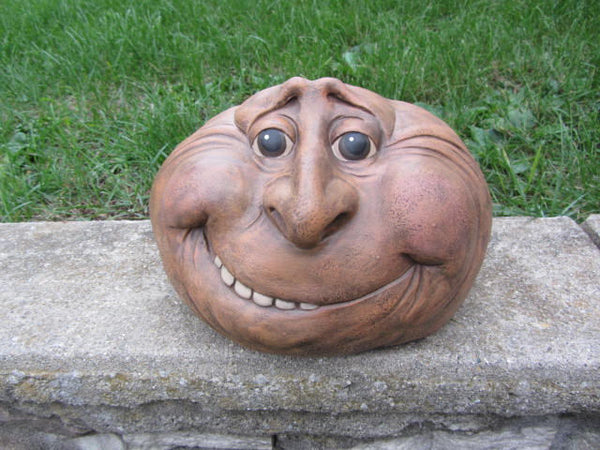 Grins In Gray | Garden Art