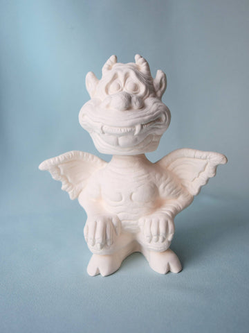 Ceramic Gargoyle | Bobble Head | DIY Paint Project