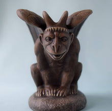 Load image into Gallery viewer, Ceramic Mid-Evil Gargoyle