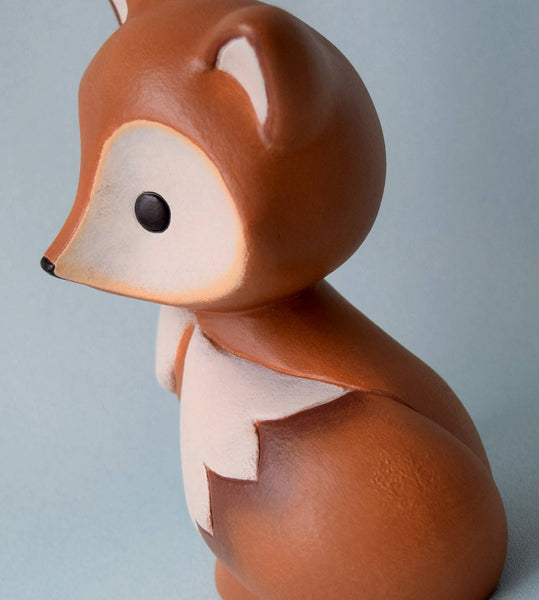 Small Ceramic Fox
