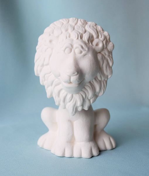 Bisque Lion | DIY Paint Project