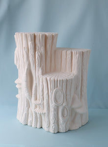 Bisque Ceramic Stump | DIY Project