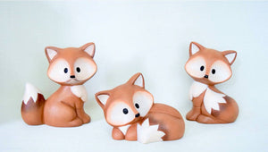 Baby Fox Set | Set of Three | Cute Woodland Foxes