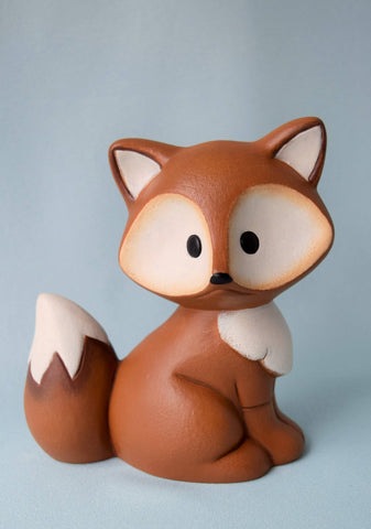 Woodland Ceramic Fox