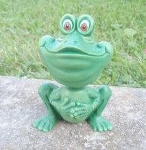 Load image into Gallery viewer, Bobble Head Ceramic Frog