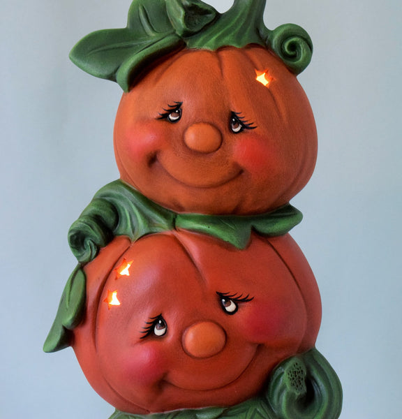 Ceramic Pumpkin Light | Fall Style