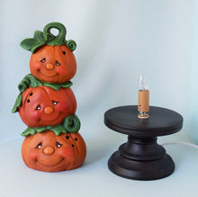 Load image into Gallery viewer, Ceramic Pumpkin Light | Fall Style