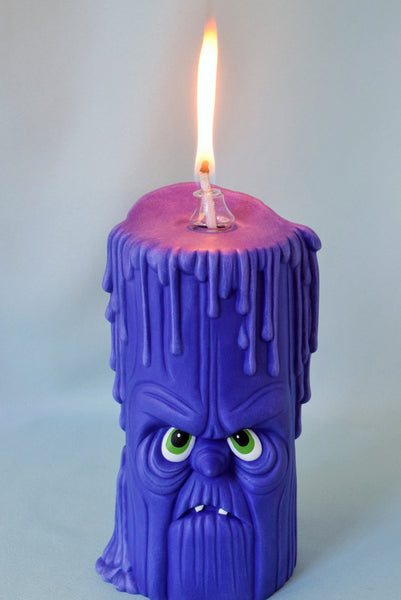 Ceramic Halloween Candle