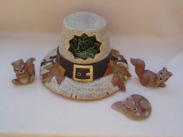Ceramic Squirrels | Set of 3 | Woodland Friends