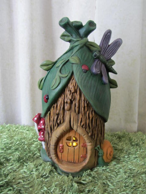 Dragonfly Fairy House