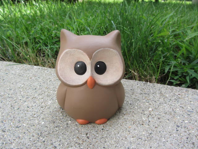 Ceramic Owl | Woodland Decor