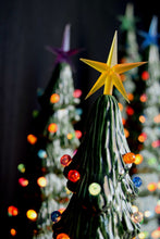 Load image into Gallery viewer, Ceramic Christmas tree in bisque - Slim Christmas Tree - 10.5 inches tall -  DIY