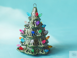 Mini Christmas Tree Ornament | Ceramic Christmas Tree