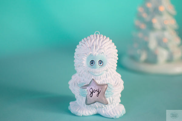 Yeti Ornament | Christmas Tree Ornament | Abdominal Snowman
