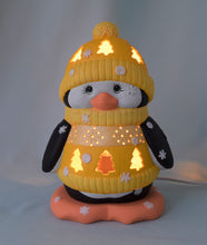 Load image into Gallery viewer, Holiday Penguin Light