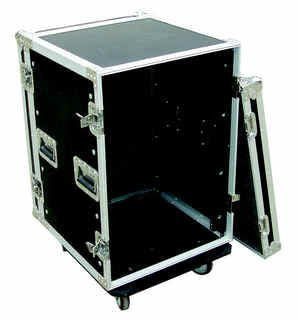 10U Roadcase on Wheels