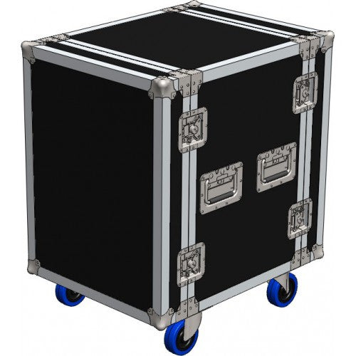 20U Roadcase on Wheels