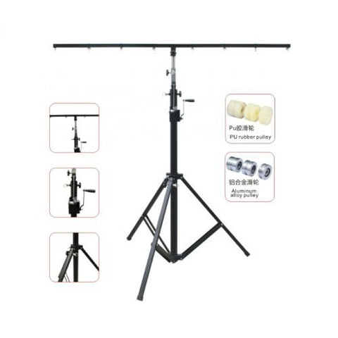 Lighting Stand Crank up 1.7-4M