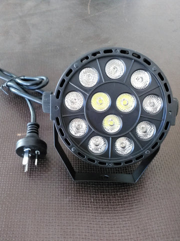 LED MINI PAR 12 x 1 Watt RGBW