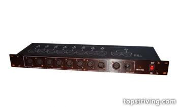8 Way DMX Splitter/Amp
