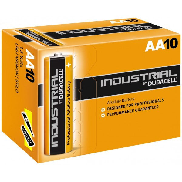 Duracell Industrial AA Battery x 10