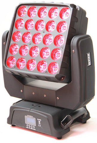 ACL124 Moving Head Beam 25 x 15w LED's
