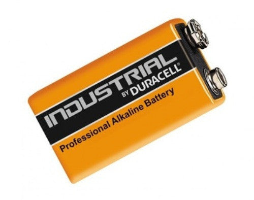 DURACELL INDUSTRIAL 9V BATTERY X 10