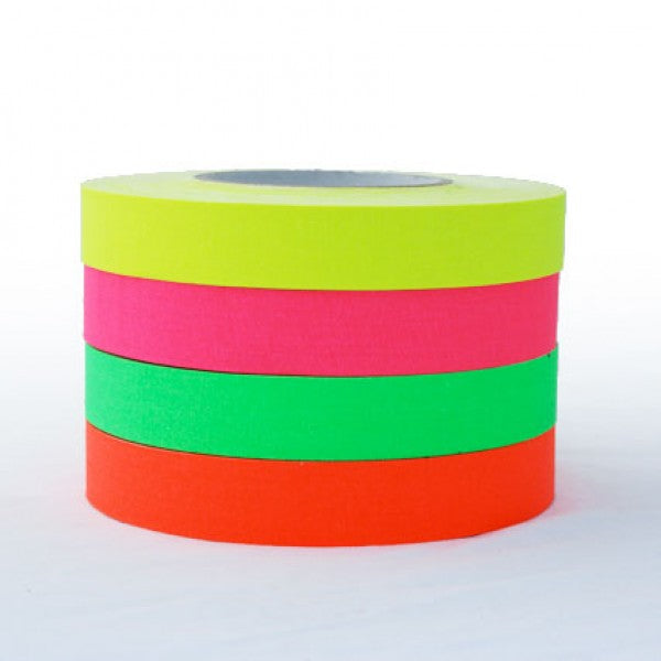 Fluro Cloth Gaffer Tape Pink