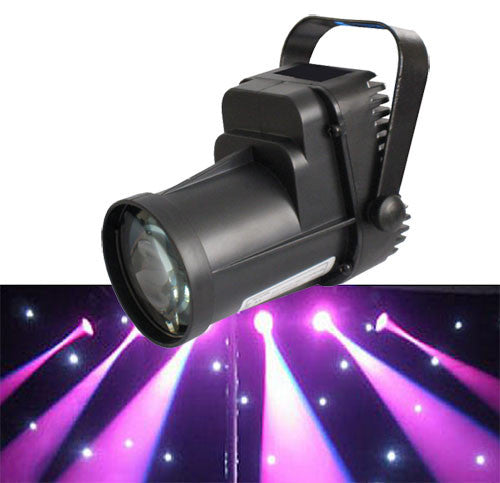 LED 10w Pinspot DMX RGBW