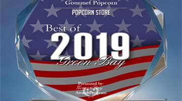 Poppin' Z's Gourmet Popcorn Best of Green Bay 2019