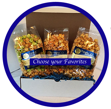 My Favorites Gourmet Popcorn Gift Box