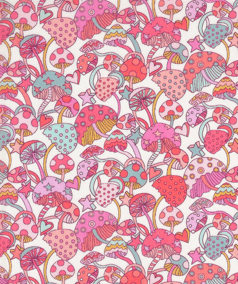 Liberty Tana Lawn Magic C Pink duckeggthreads.co.uk