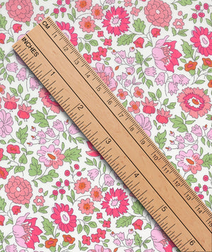 Liberty Tana Lawn D'Anjo C Pink duckeggthreads.co.uk