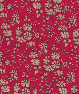 Liberty Tana Lawn Capel F Red duckeggthreads.co.uk