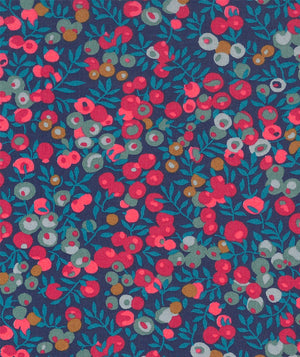 Liberty Tana Lawn Wiltshire B Midnight Blue duckeggthreads.co.uk
