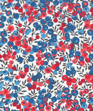 Liberty Tana Lawn Wiltshire C Red duckeggthreads.co.uk