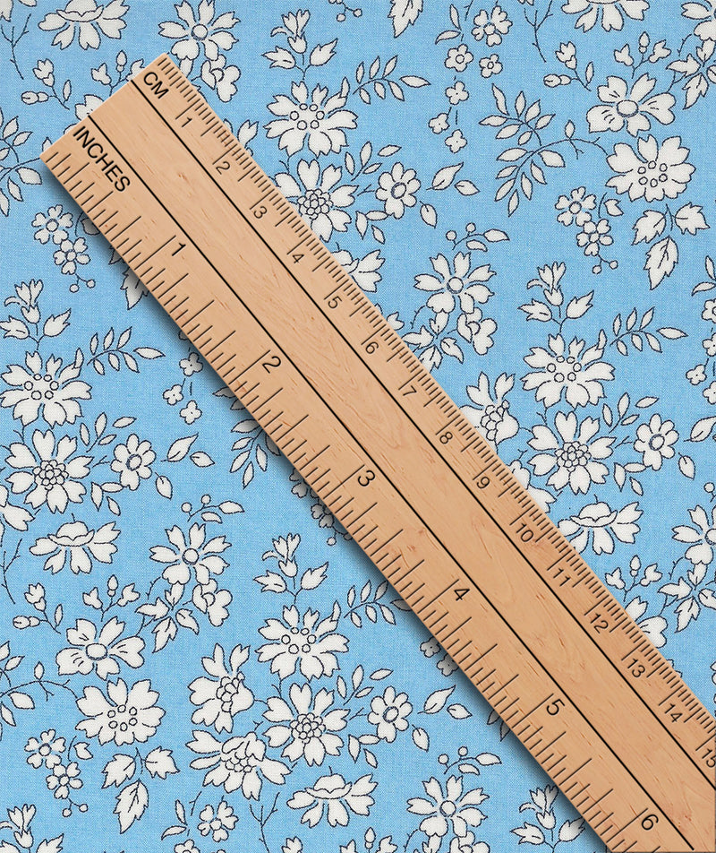 Liberty Tana Lawn Capel C Pale Blue duckeggthreads.co.uk