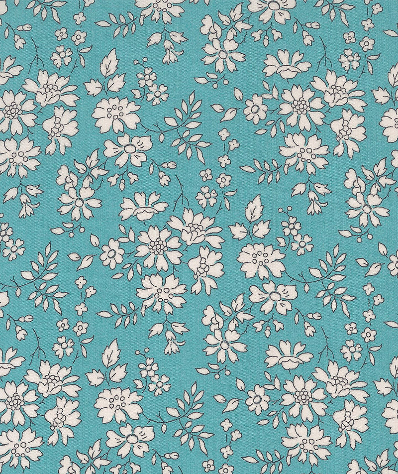 Liberty Tana Lawn Capel N Turquoise duckeggthreads.co.uk