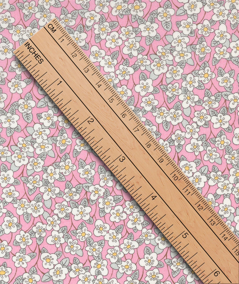 Liberty Tana Lawn Ffion E Pink duckeggthreads.co.uk