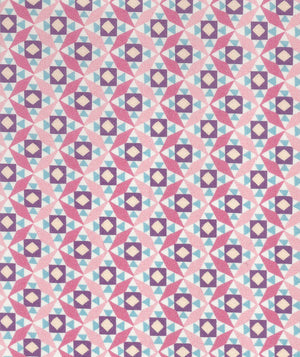 Liberty Tana Lawn Cubi B Pink duckeggthreads.co.uk