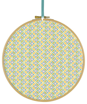 Liberty Tana Lawn Cubi C Yellow duckeggthreads.co.uk